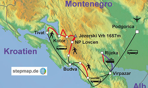 Montenegro Adventure Top Tours